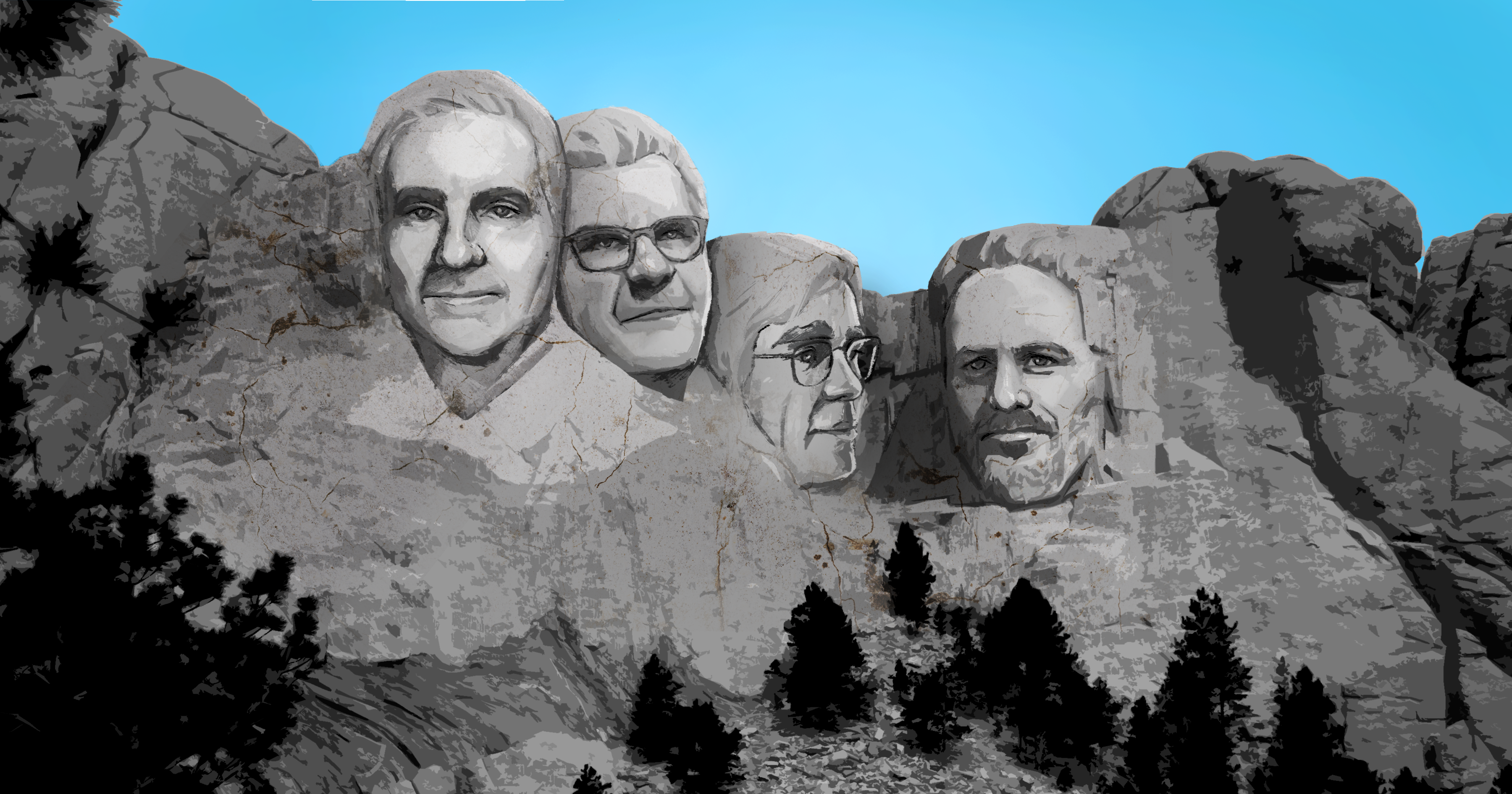 Founding fathers of open innovation